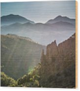 Andalucia Morning Wood Print