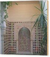 Andalus Mansion In Cordoba Wood Print