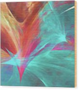 Andee Design Abstract 136 2017 Wood Print