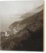 Anderson Creek Labor Camp Big Sur April 3 1931 Wood Print