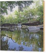 Anderson Falls, Indiana Wood Print