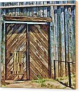 Andersonville Gateway To Hell Wood Print