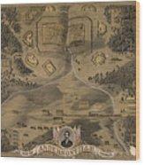 Andersonville Prison Wood Print