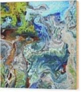 Andes-glacier...serie Wood Print