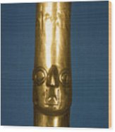 Andes: Gold Effigy, 1400 Wood Print
