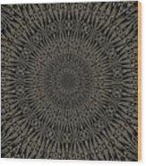 Andoluvium Metal Mandala Wood Print