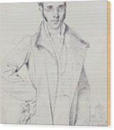 Andre-benoit Barreau, Dit Taurel Wood Print