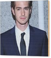 Andrew Garfield At Arrivals For The Wood Print by Everett