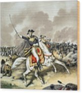 Andrew Jackson At The Battle Of New Orleans Wood Print