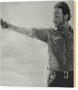 Andrew Lincoln Wood Print