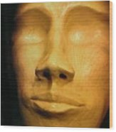 Andro Alien Wood Print