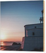 Andros Island Sunset - Greece Wood Print
