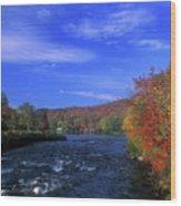 Androscoggin River Headwaters Wood Print