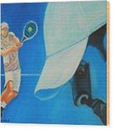 Andy Roddick Wood Print