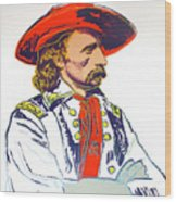 Andy Warhol, General Custer, Cowboys And Indians Series Wood Print