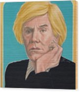 Andy Warhol Wood Print