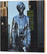 Andy Warhol New York Wood Print