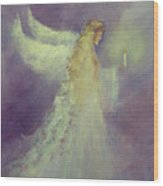 Angel Bright Wood Print