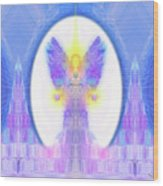 Angel Crystals 444 Wood Print
