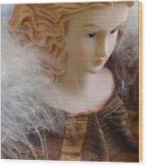 Angel Doll Wood Print