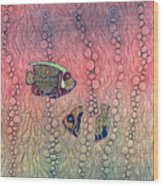 Angel Fish Wood Print