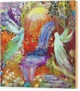 Angel Gate Wood Print
