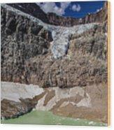 Angel Glacier Jasper 2 Wood Print