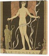Angel Le Tombeau De Bilitis Wood Print