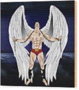Angel Love 2  Wood Print
