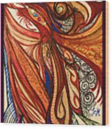 Angel Lucifer Wood Print