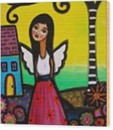 Angel Nilda Wood Print