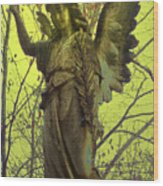 Angel Of Bless No. 01 Wood Print by Ramon Labusch