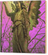 Angel Of Bless No. 02 Wood Print by Ramon Labusch