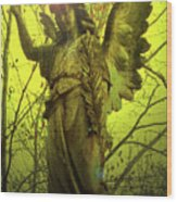 Angel Of Bless No. 04 Wood Print by Ramon Labusch
