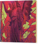 Angel Of Blesss No. 05 Wood Print by Ramon Labusch