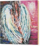 Angel Of Dreams Wood Print