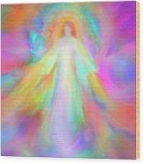 Angel Of Forgiveness And Compassion Wood Print