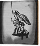 Angel Of Gettysburg Wood Print
