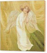 Angel Of Grace Wood Print