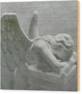 Angel Of Grief Wood Print