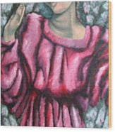 Angel Of Hope Wood Print