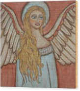 Angel Of Liberation Wood Print