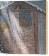 Angel Of Light Wood Print