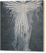 Angel Of Mercy Wood Print