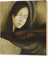 Angel Of Music Wood Print