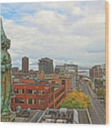 Angel Of Old Montreal Wood Print