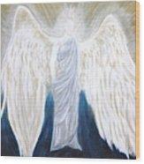 Angel Of Salvation Wood Print