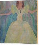 Angel Of Sunshine Wood Print