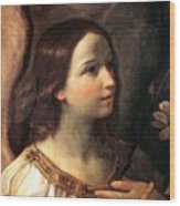Angel Of The Annunciation Wood Print