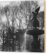 Angel Of The Waters Wood Print